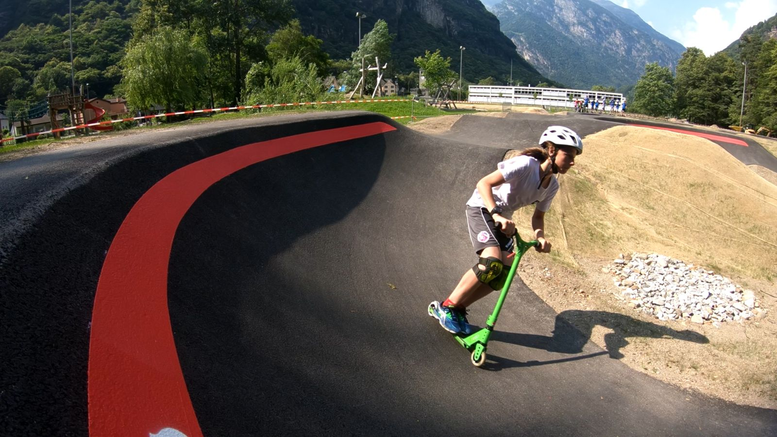 Rollers and banked turns