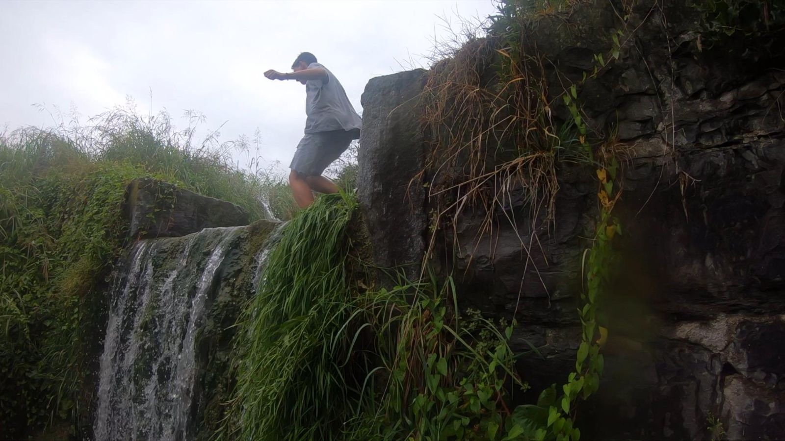 Parkour in the Mendrisiotto.