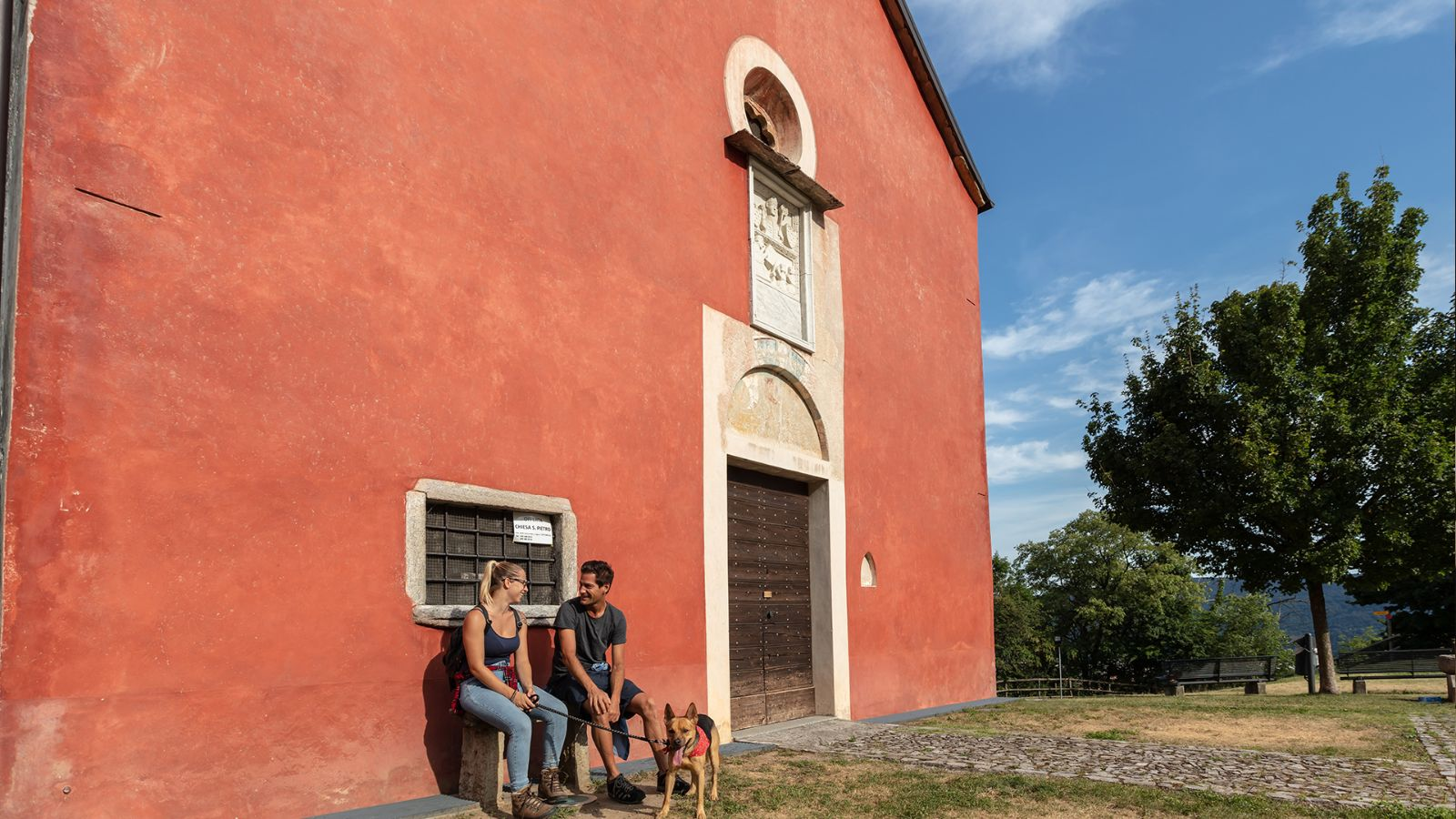 Red Church, Castel San Pietro.