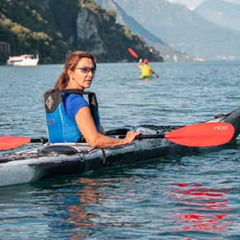 Paddling with Eva Antonini, art, panoramas and emotions