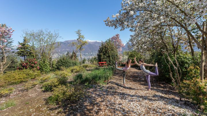 Dove fare yoga in Ticino