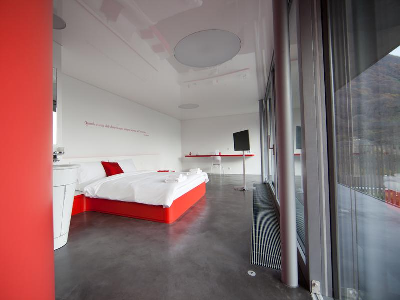 Chromotel ticino turismo for Design hotel tessin