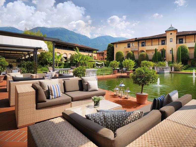 Giardino ascona tessin tourismus for Design hotel tessin