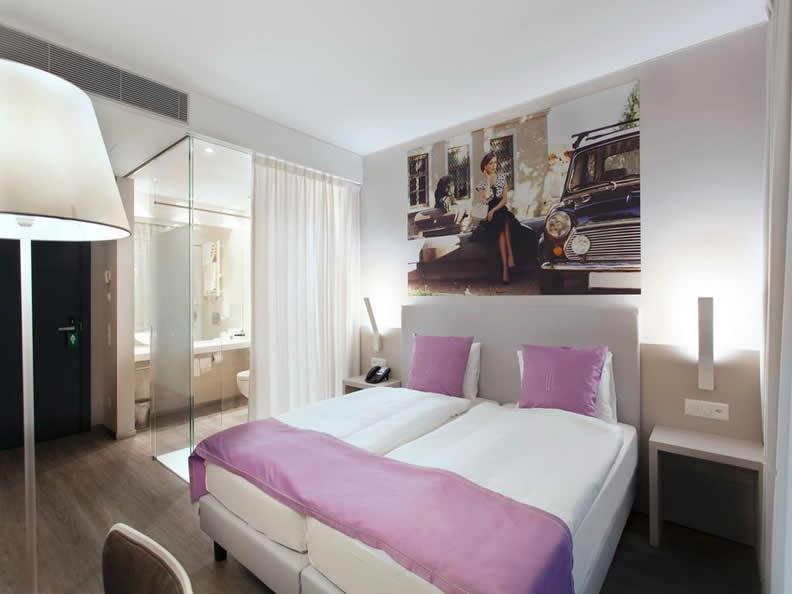Hotel city garni for Design hotel tessin