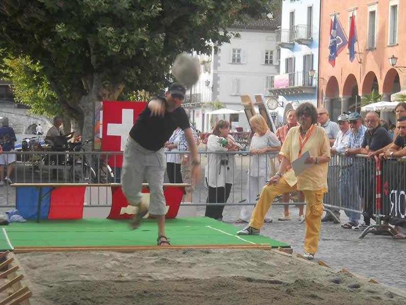 Image 0 - Tessiner Meisterschaft im Steinstossen
