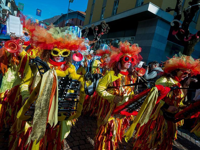Image 1 - Carnival in Ticino 2019