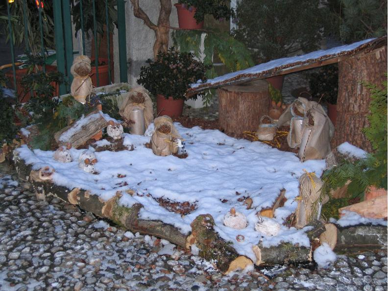 Image 1 - Open-air Christmas Crib exhibition Vira