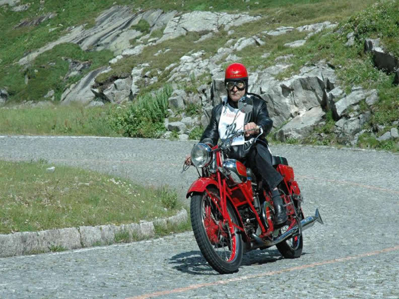 Image 1 - International meeting of vintage motorbikes