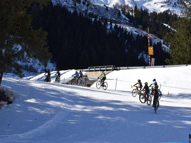 Image 0 - MTB Snow Race Campra 2021