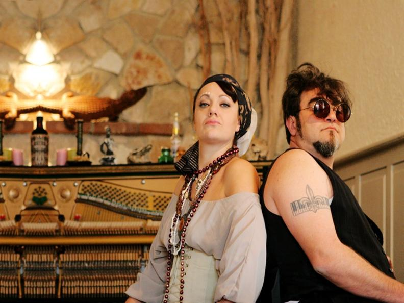 Image 2 - Amaury Faivre Duo, Bayou Moonshiners and Travellin' Brothers - Vallemaggia Magic Blues