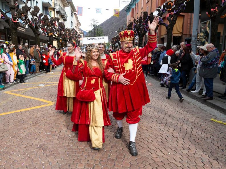 Image 1 - ABGESAGT: Im Reich von König Rabadan Karneval in Bellinzona