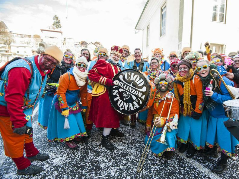 Image 0 - In the reign of king Rabadan Carnival in Bellinzona