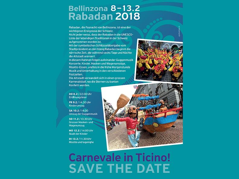 Image 1 - In the reign of king Rabadan Carnival in Bellinzona