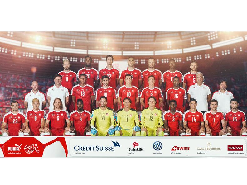 Image 0 - Swiss national football team: trainings and matches