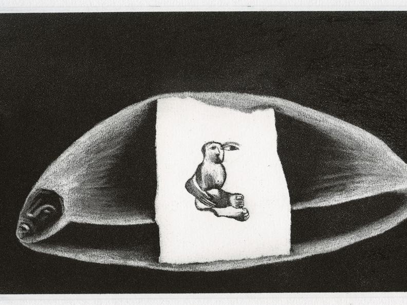 Image 0 - Enzo Cucchi - Cinquant'anni di grafica d'artista