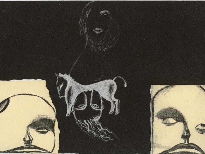 Image 1 - Enzo Cucchi - Cinquant'anni di grafica d'artista