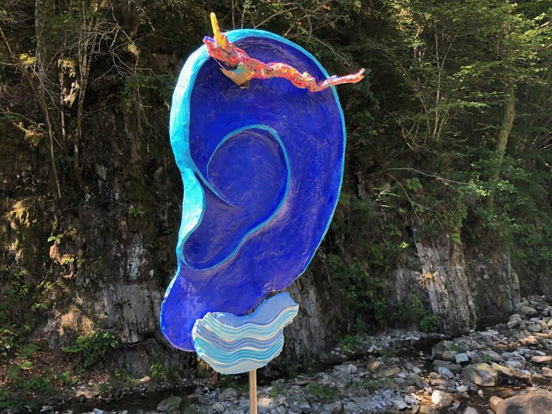 Image 3 - Sculptures and creative outdoor handicrafts 2020