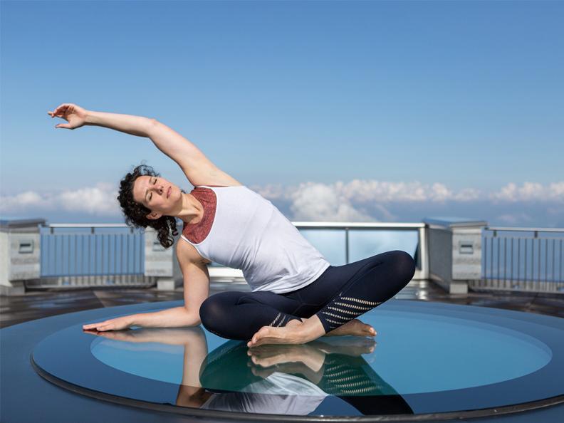Image 0 - Yoga awakening at 1704 metres