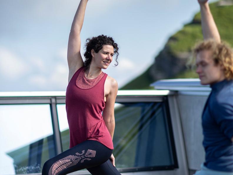 Image 1 - Yoga awakening at 1704 metres