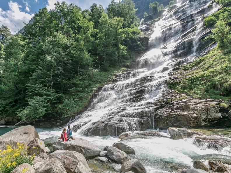 Image 2 - The Great Waterfall Skyrace - Bavona