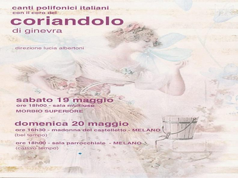 Image 0 - Canti polifonici italiani con il coro del coriandolo di Ginevra