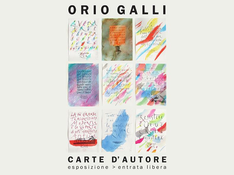 Image 0 - Orio Galli - Carte d'autore