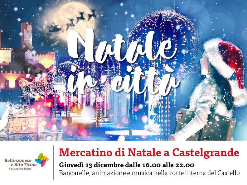 Image 5 - Christmas market at Castelgrande