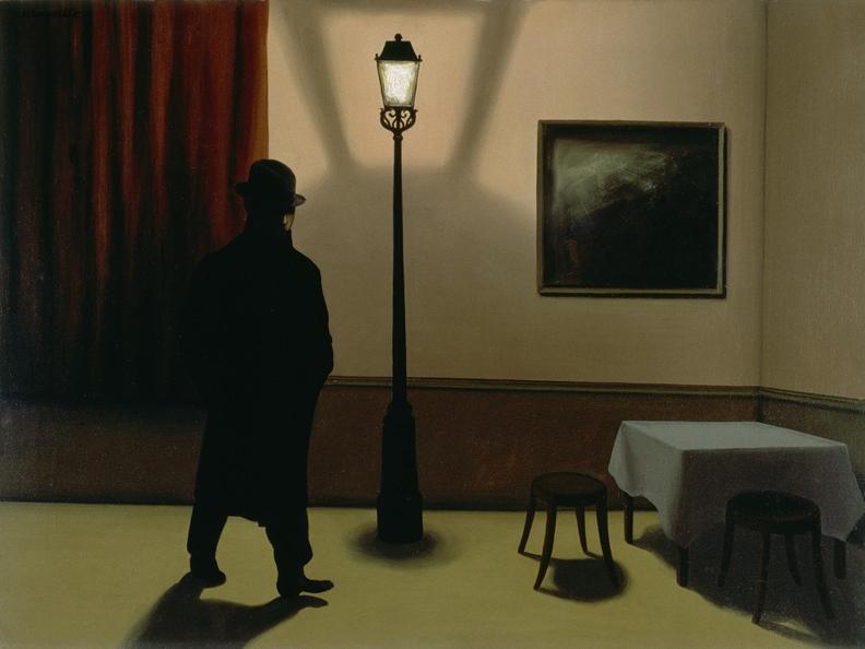 Image 1 - René Magritte. La ligne de vie.
