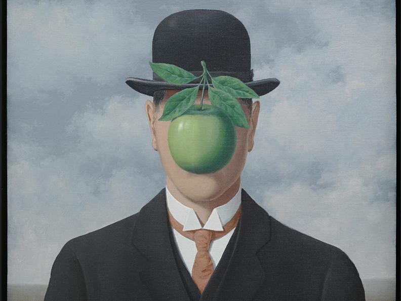 Image 0 - René Magritte. La ligne de vie.