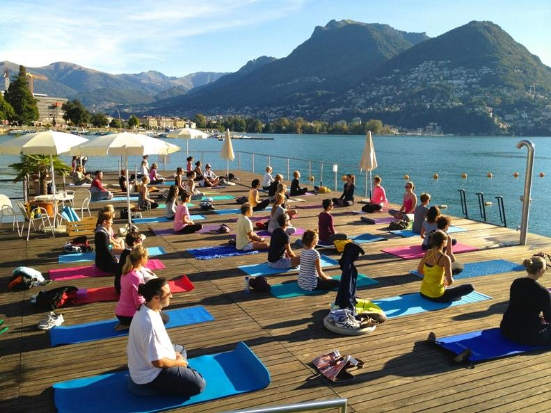Image 0 - Yoga at the Bagno Pubblico