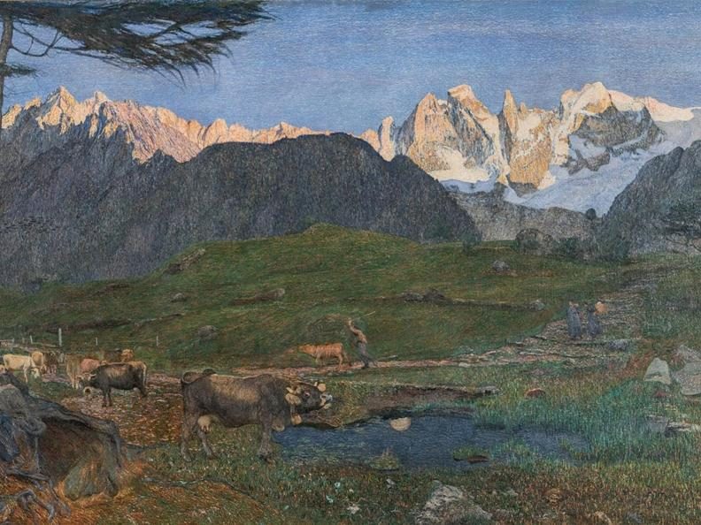 Image 1 - Sublime. Giovanni Segantini: Light and landscape