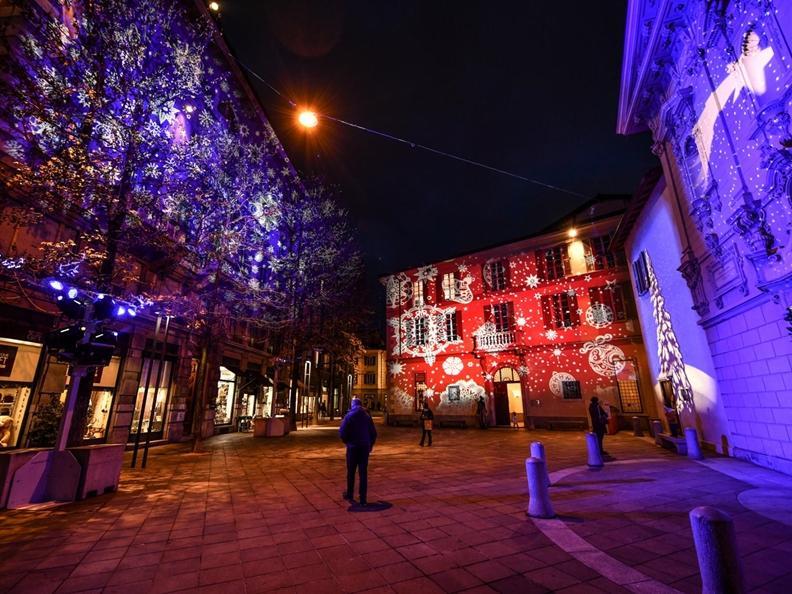 Image 12 - Christmas lights in Lugano