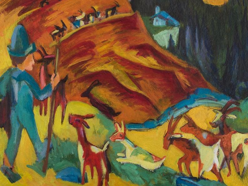 Image 0 - Ernst Ludwig Kirchner and the grandeur of the mountains