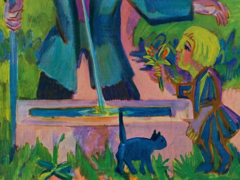 Image 1 - Ernst Ludwig Kirchner and the grandeur of the mountains