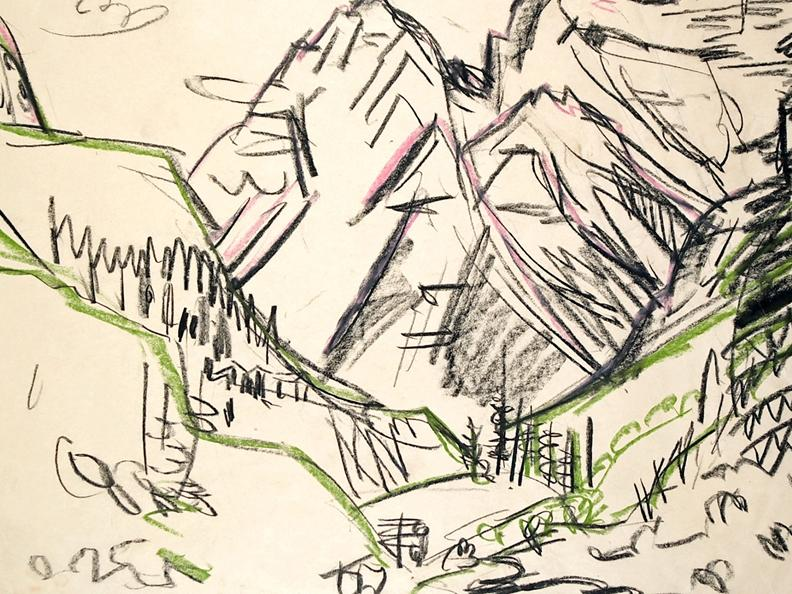 Image 2 - Ernst Ludwig Kirchner and the grandeur of the mountains