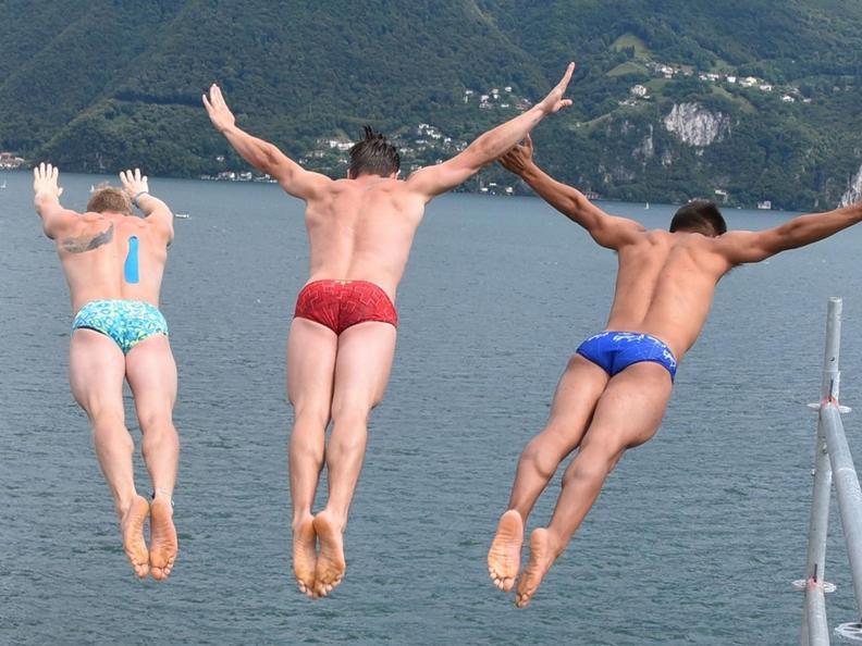 Image 0 - Lugano Cliff Diving 2021
