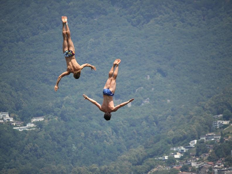 Image 1 - Lugano Cliff Diving 2021
