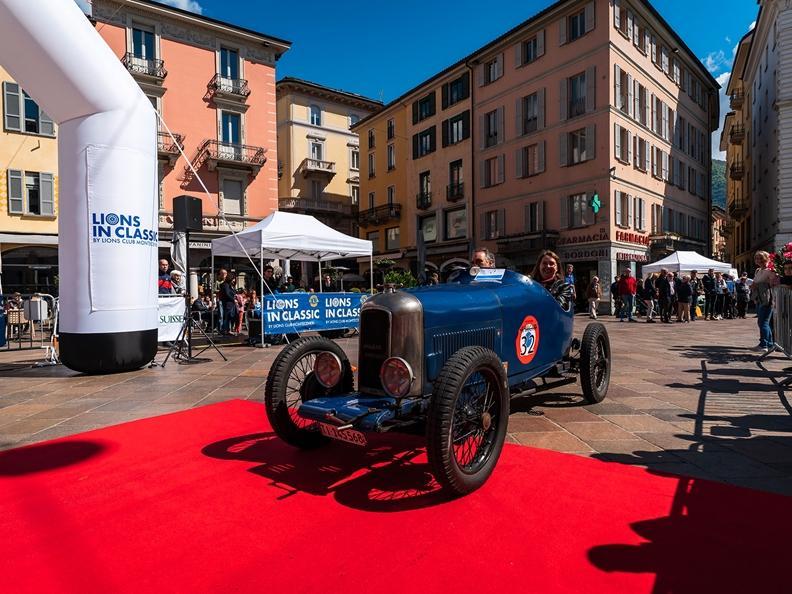 Image 0 - Prologue of the Concorso di Eleganza Città di Lugano