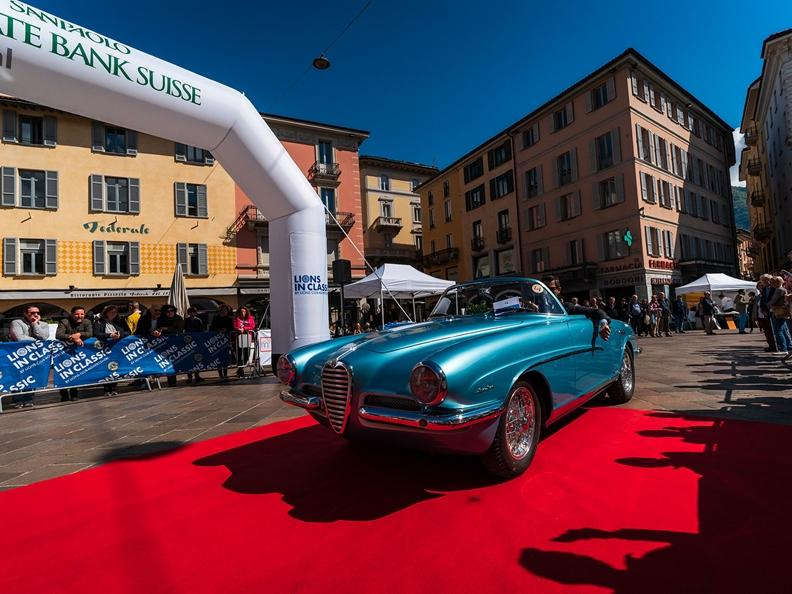 Image 6 - Prologue of the Concorso di Eleganza Città di Lugano