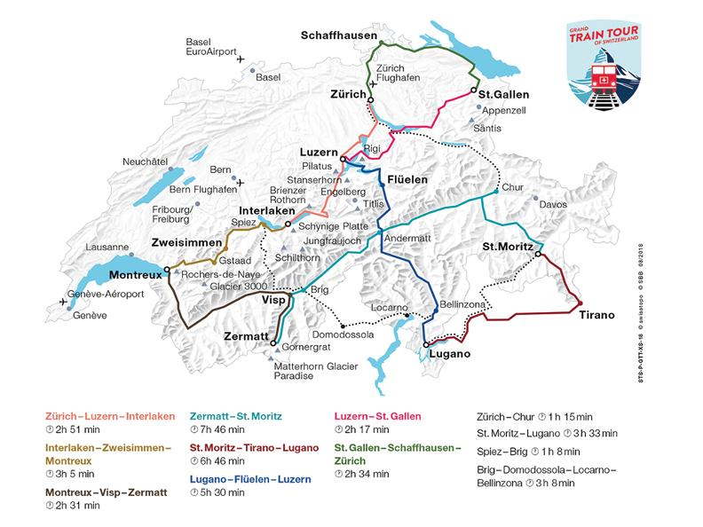 Image 0 - Grand Train Tour of Switzerland