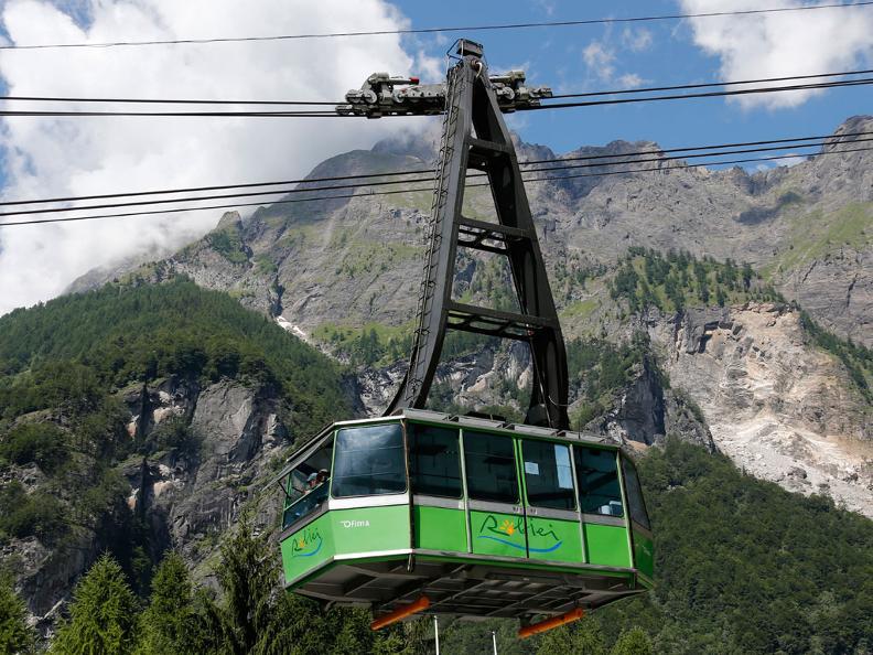 Seilbahn San Carlo Robiei Ticino Ch