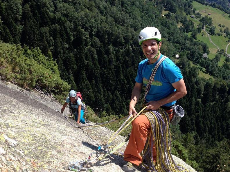 Image 2 - Vertical emotions - Climbing in Ticino
