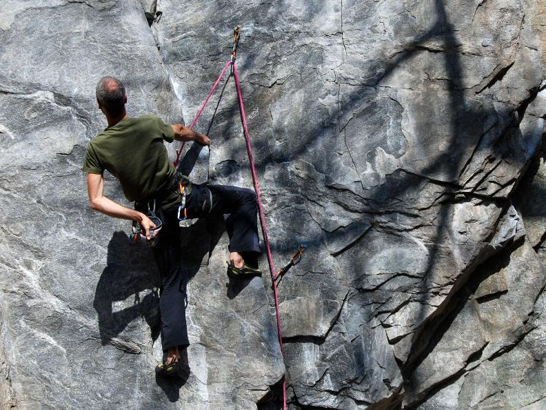 Image 1 - Vertical emotions - Climbing in Ticino