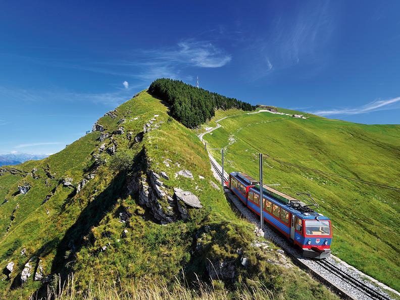 Image 0 - Zahnradbahn Monte Generoso