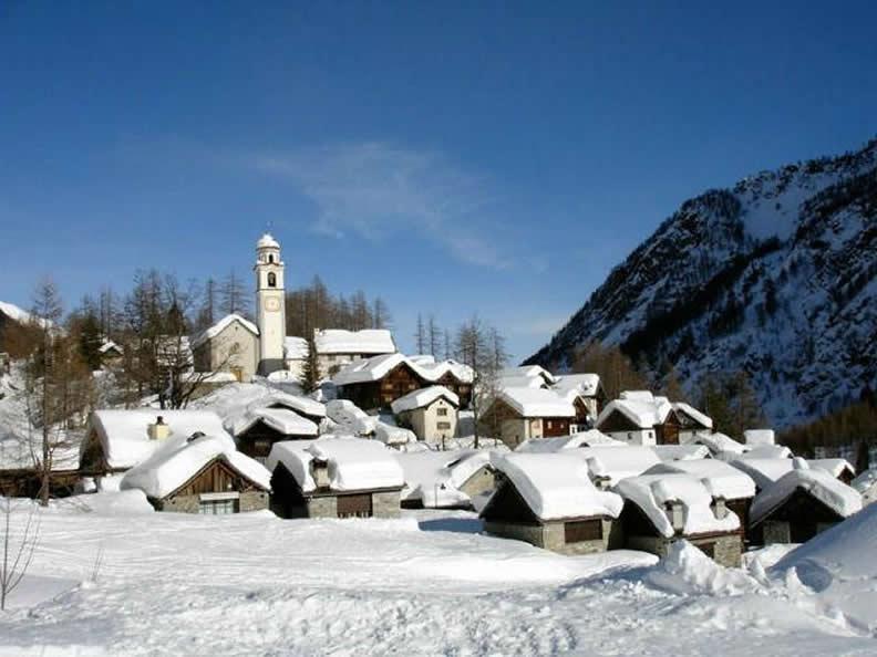 Image 0 - Bosco Gurin, le village Walser