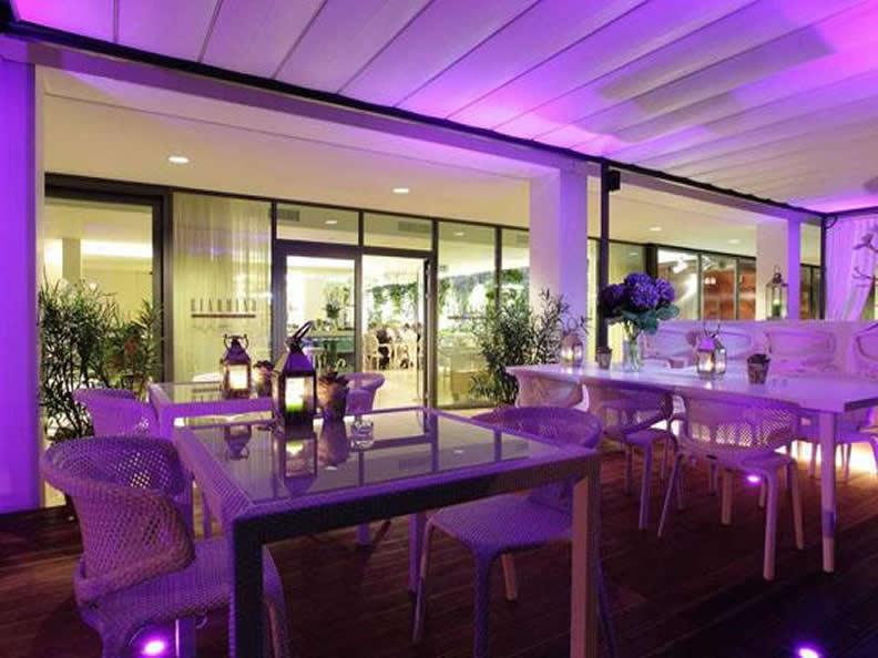 Giardino lounge design drinks und delikatessen for Design hotel tessin