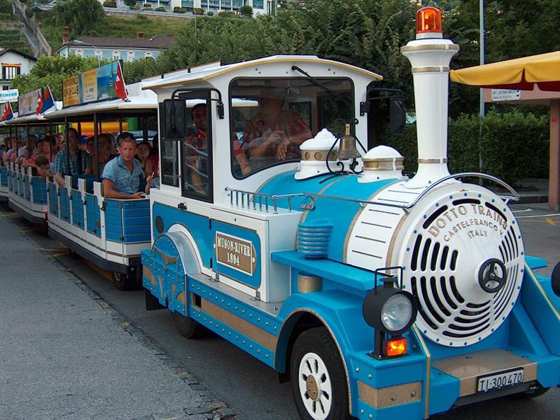 Image 2 - Tourist train on wheels