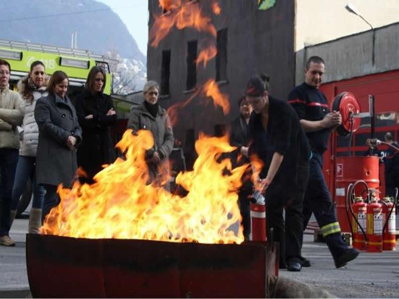 Image 1 - Visit the Fire Brigade Lugano