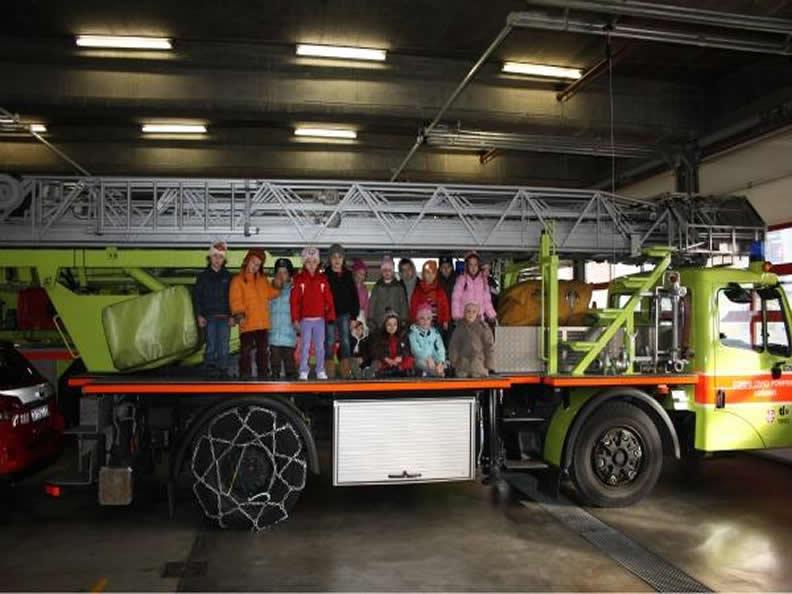 Image 2 - Visit the Fire Brigade Lugano