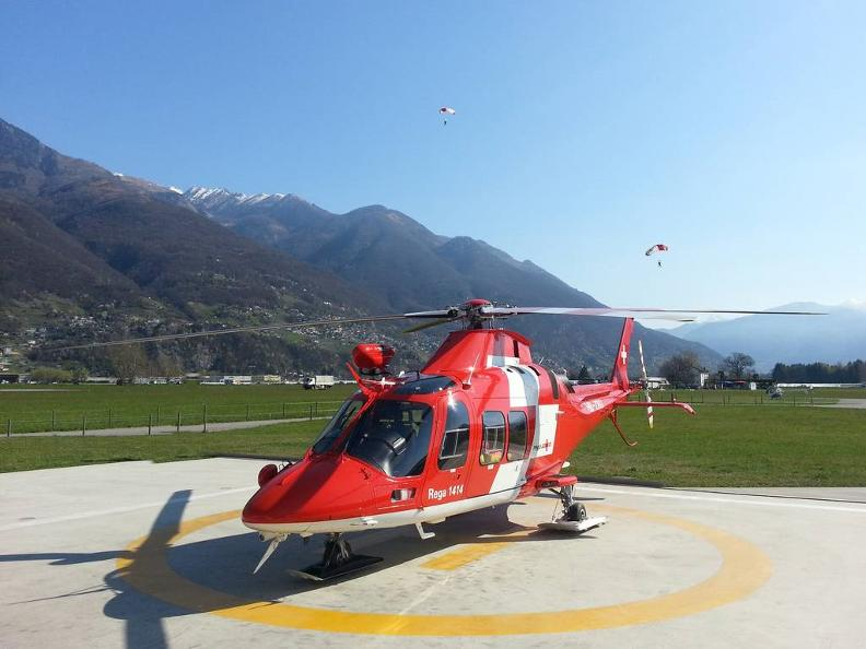 Image 2 - Visit the Rega Base Ticino Swiss Air-Rescue